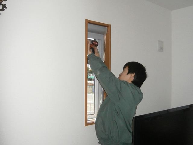 岩倉市 新築一戸建て住宅の網戸新設