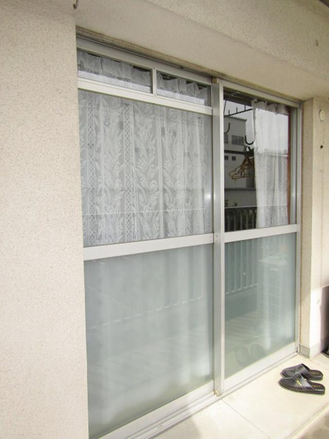 名古屋市守山区 公団住宅 袋型網戸 取付工事