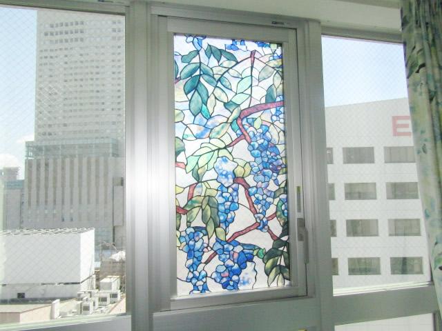 名古屋市中区マンション 収納網戸 アコーディオン網戸