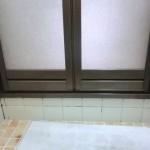浴室ドア交換後 浴室側