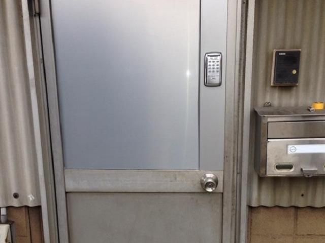 春日井市 電子錠取付工事