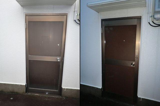 春日井市 ドア取替工事