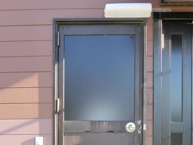 名古屋市中川区 店舗ドアの防犯対策