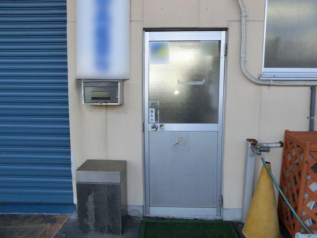 一宮市 工場ドアの取替工事