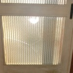 玄関引戸のガラス修理、交換