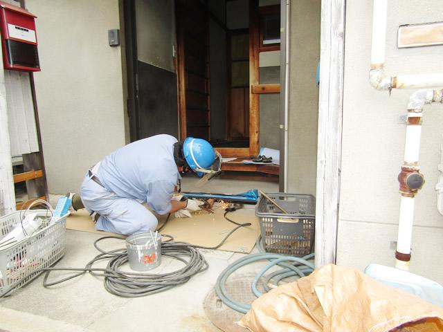 【LIXIL】玄関引戸ドア 取替工事