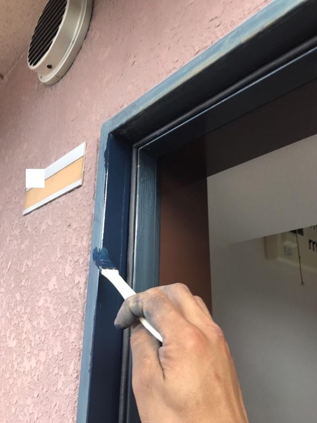 名古屋市北区 マンション玄関ドア 取替工事