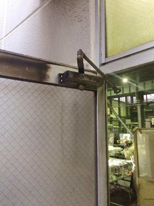 名古屋市港区 A社事務所出入口 ドアクローザー取替工事