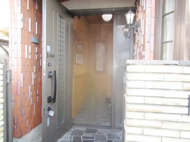 春日井市 LIXIL リシェント玄関ドア