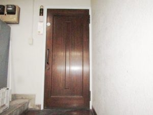 名古屋市中区 店舗ドア クリエラガラスドア取付