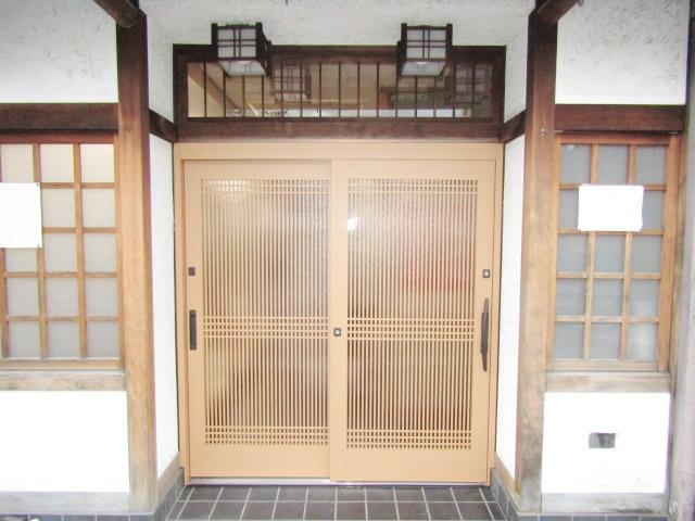 名古屋市西区 玄関引戸取り替え工事