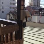 名古屋市中区 センサーライト設置