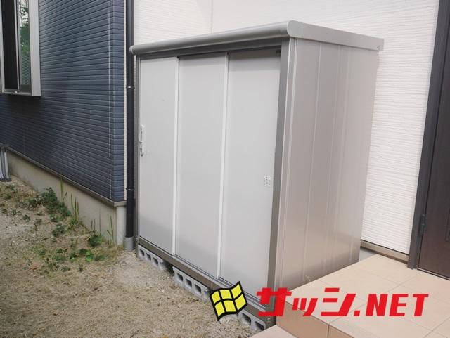 物置設置工事 エスモ ESE-1507E 施工事例 名古屋市天白区