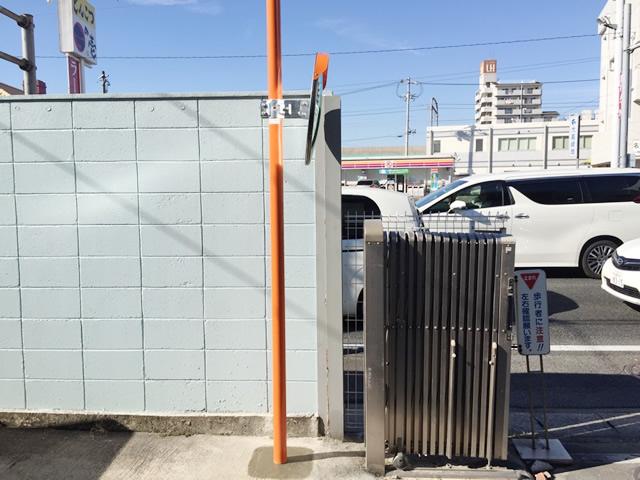 名古屋市緑区 N社様 カーブミラー取付工事