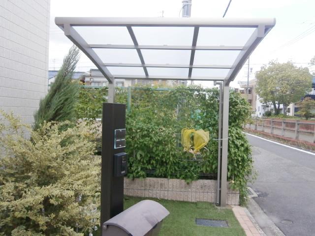 名古屋市南区 サイクルポート新設工事 リクシル