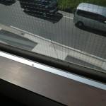 窓ガラス 修理後