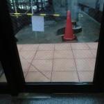 入口ドア修理後