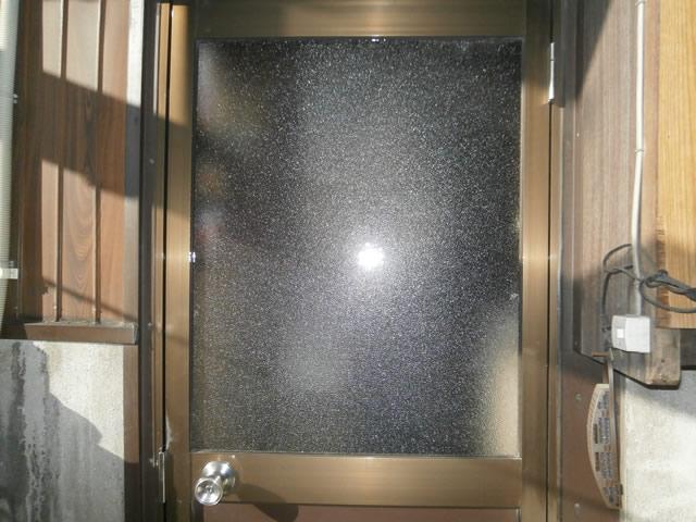 名古屋市港区 ガラス修理