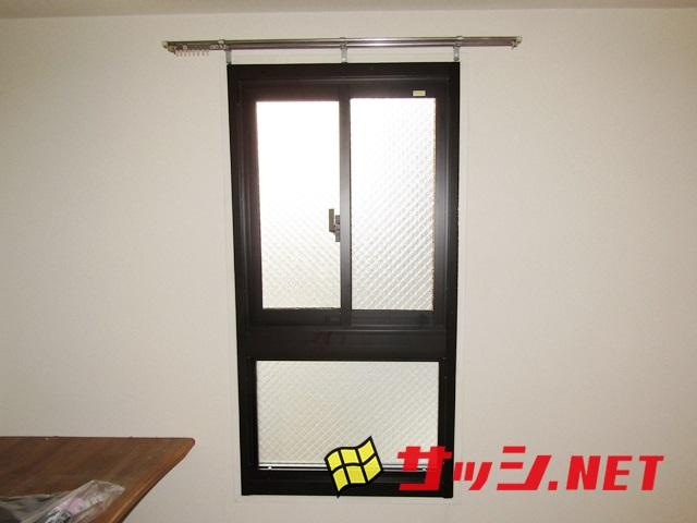 窓のリフォーム ビル用サッシカバー工法による取替 名古屋市中川区