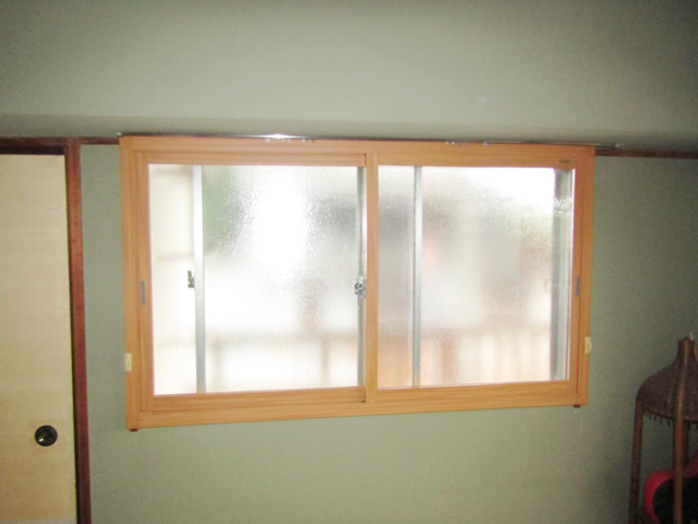 名古屋市南区 LIXIL 内窓インプラスPG 取付工事