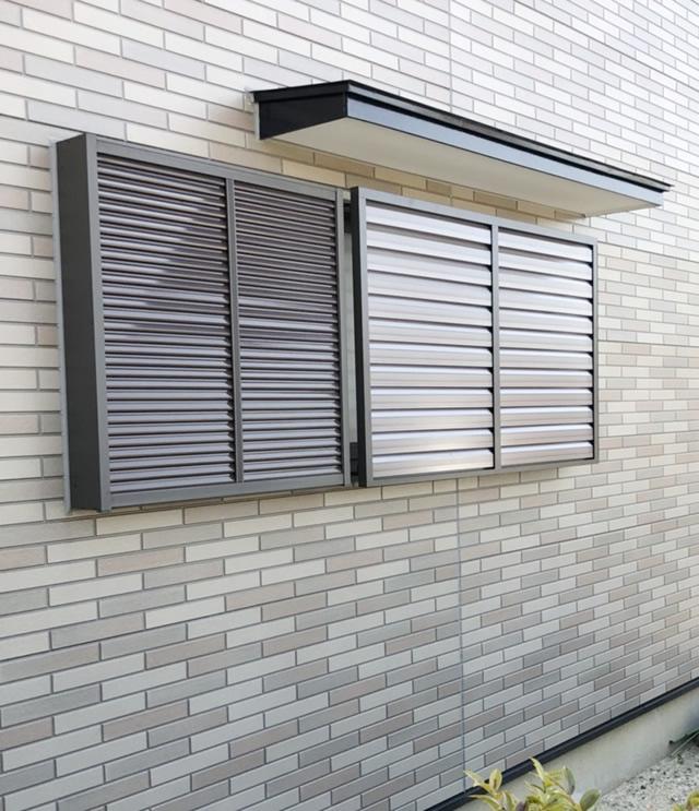 名古屋市緑区 リクシル 目隠しセキュリティフィルター80 取付工事