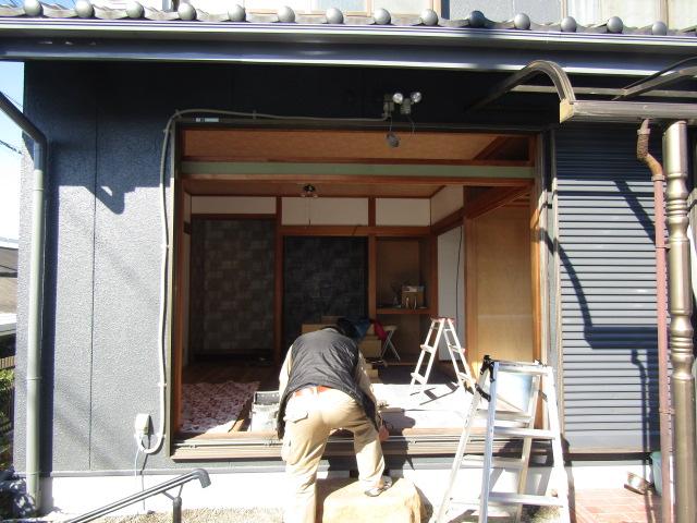 名古屋市港区 サッシ取替(カバー工法)