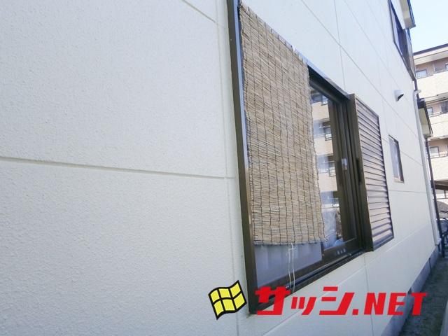 1階窓の防犯対策 アルミ面格工事 名古屋市西区