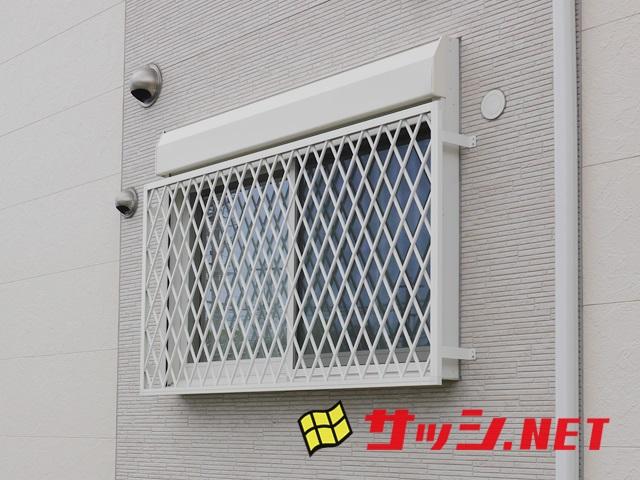 シャッター窓への面格子取付工事 施工事例 名古屋市南区