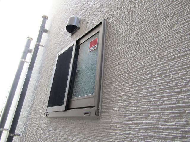 名古屋市守山区 LIXIL 高強度面格子 取付工事