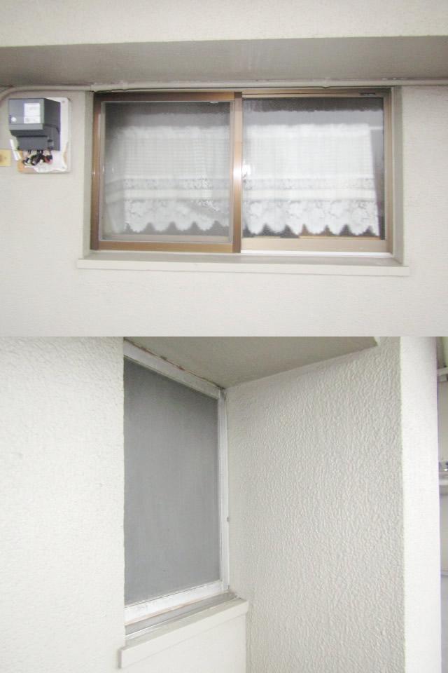名古屋市天白区 縦面格子取付工事