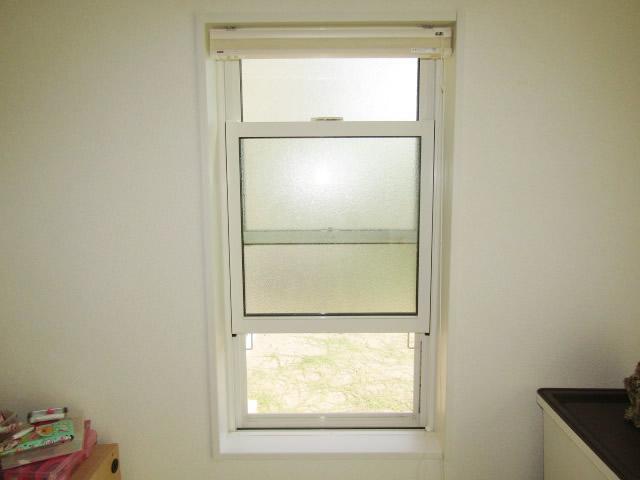 名古屋市緑区 室内すべり出し窓 面格子取付工事