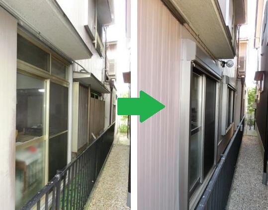 雨戸の開閉が重い サッシ交換 電動シャッター工事 名古屋市南区