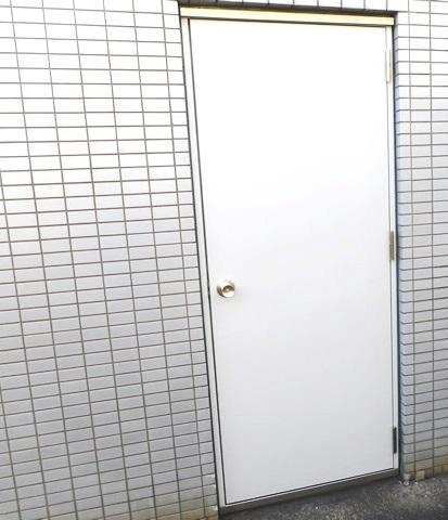 片開きスチールドア取替工事 名古屋市中区