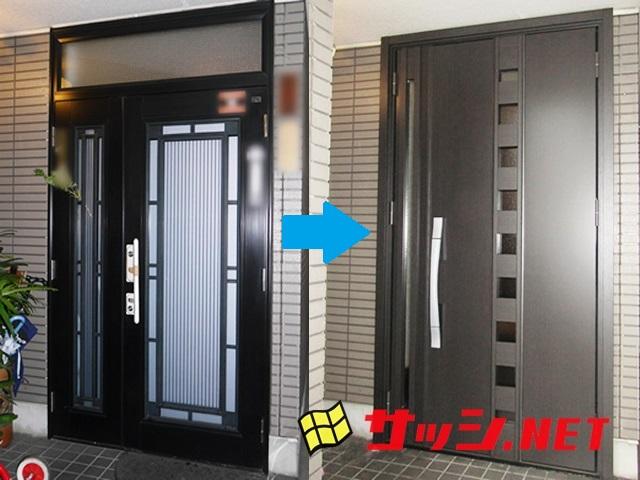 玄関ドアリフォーム LIXILリシェント 名古屋市南区