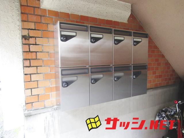マンションの集合ポスト取替工事 春日井市