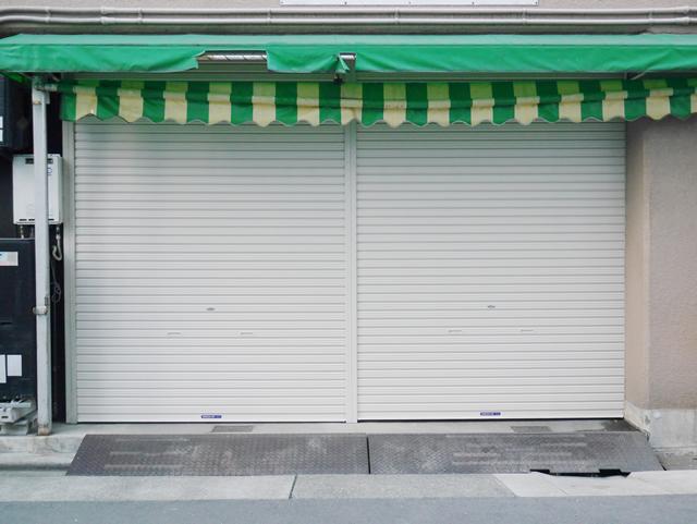 三和軽量手動シャッター取替工事 名古屋市中村区