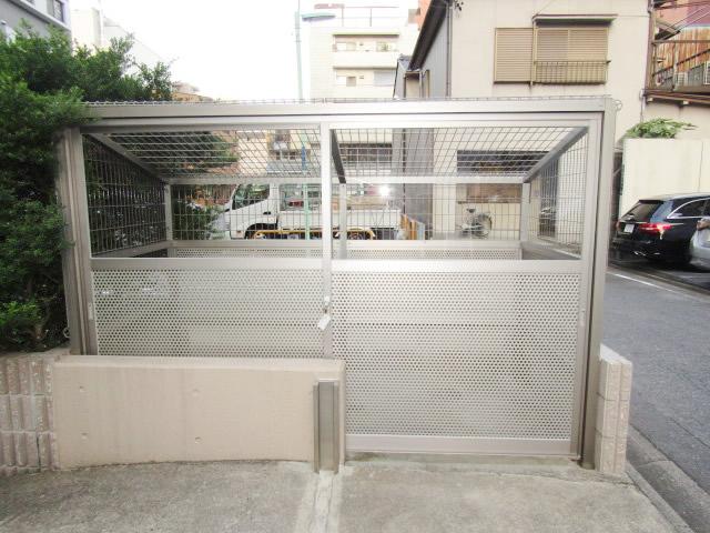 名古屋市中区 マンション ゴミ置場撤去 新設工事