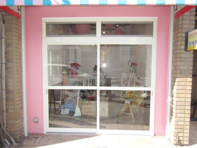 名古屋市中区 店舗フロント工事