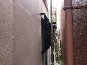 名古屋市中区窓の面格子施工事例