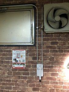 名古屋市瑞穂区のビリヤード場店舗様より窓修理