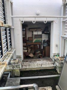 【スチールドア施工事例】ペントハウスのスチールドア取替工事 名古屋市中区