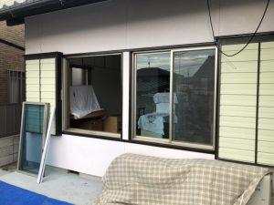 【窓のリフォーム】サッシリフォーム カバー工法 愛知県東郷町