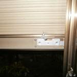 名古屋市港区 トステム製雨戸シャッターの修理