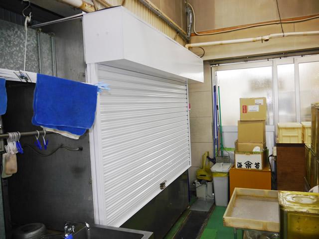 名古屋市北区 S社様 軽量バランスシャッター取替工事