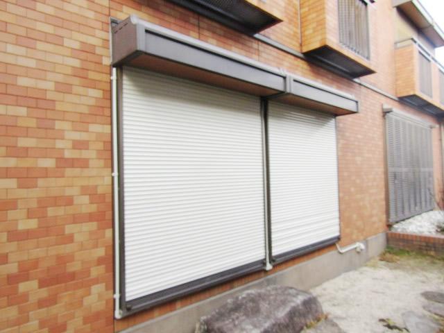 名古屋市昭和区 手動窓シャッター電動化工事