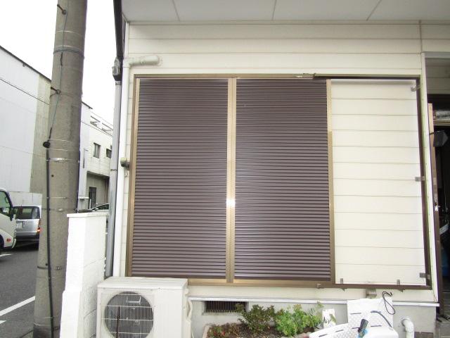 名古屋市南区 ルーバー雨戸取り替え工事