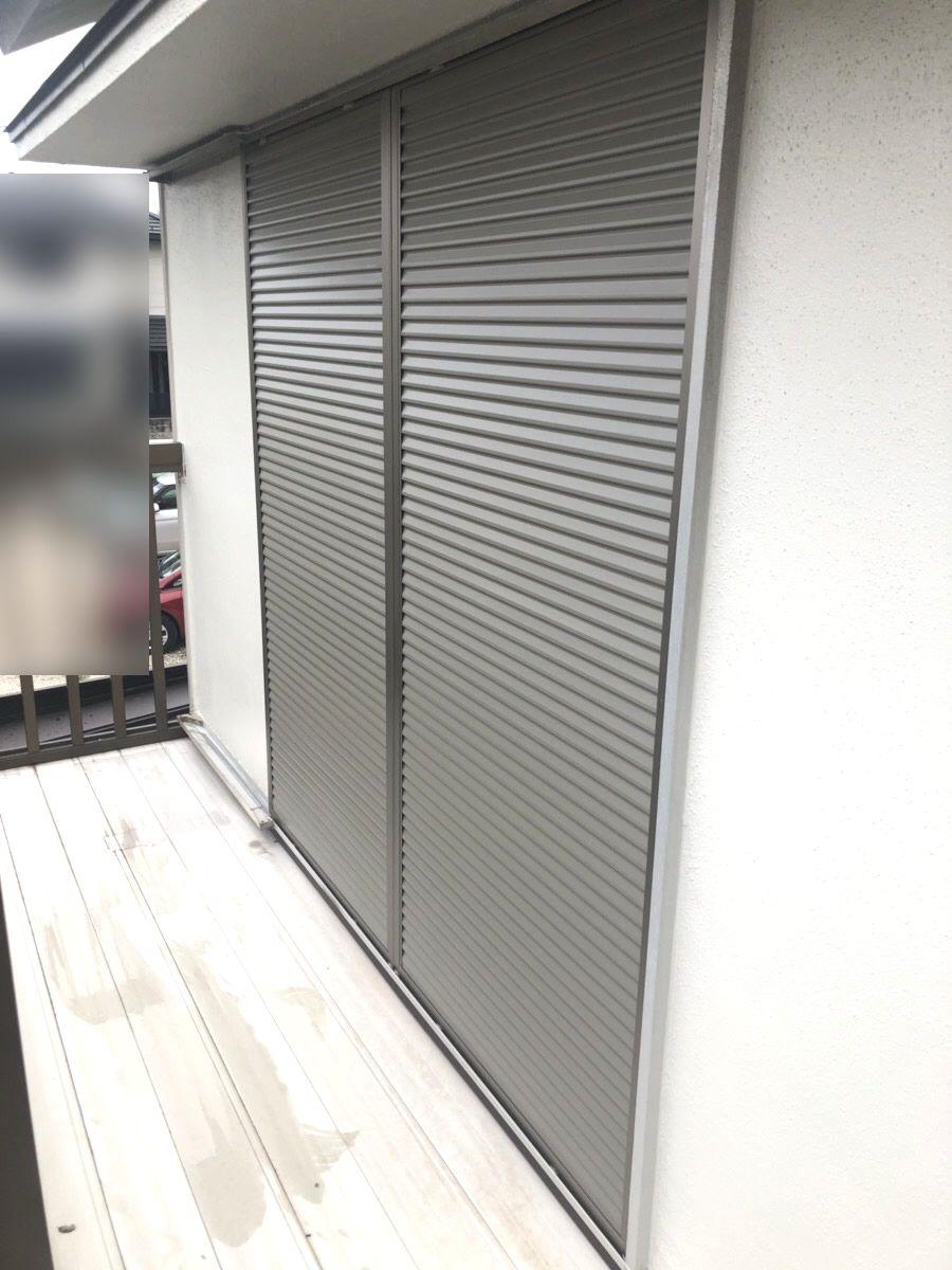 名古屋市緑区 雨戸取替工事 LIXIL取替用雨戸パネル