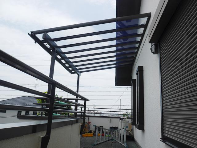 名古屋市緑区 LIXIL パワーアルファ 2階テラス工事