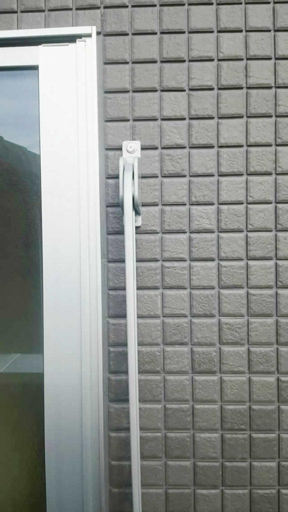豊明市 トステム 壁付け物干し 取付工事