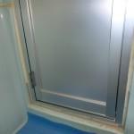新設ドア 浴室側